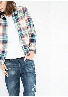 Рубашка женская артикул 453228P по каталогу Otto