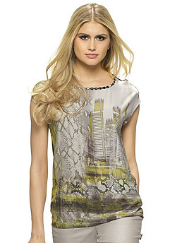 блузка женская Laurel артикул 3905015 по каталогу Alba Moda Il Grande