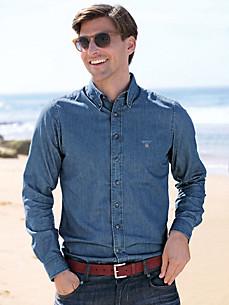 Рубашка джинсовая артикул 4605788 по каталогу Peter hahn