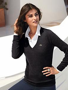 Пуловер женский из шерсти артикул 82592788 по каталогу Peter hahn