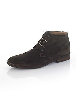 Ботинки из замши артикул 4647165 по каталогу Alba Moda