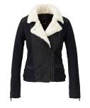 куртка кожаная Maison Scotch артикул  6679943 по каталогу Conleys